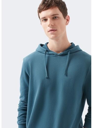 Mavi Sweatshirt Yeşil
